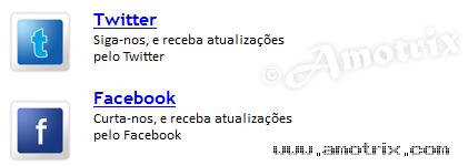 Modelo 3 - Facebook e Twitter