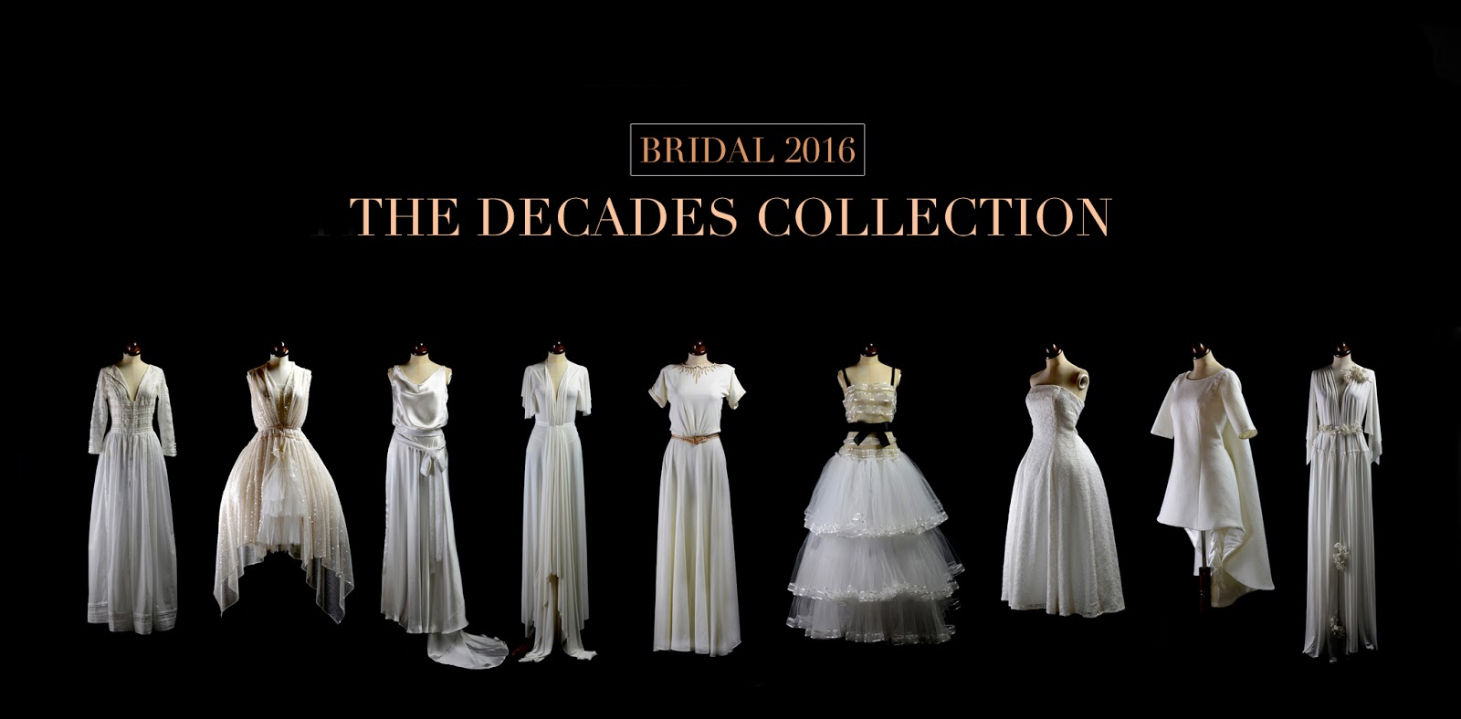 Decades 2016 Bridal Collection