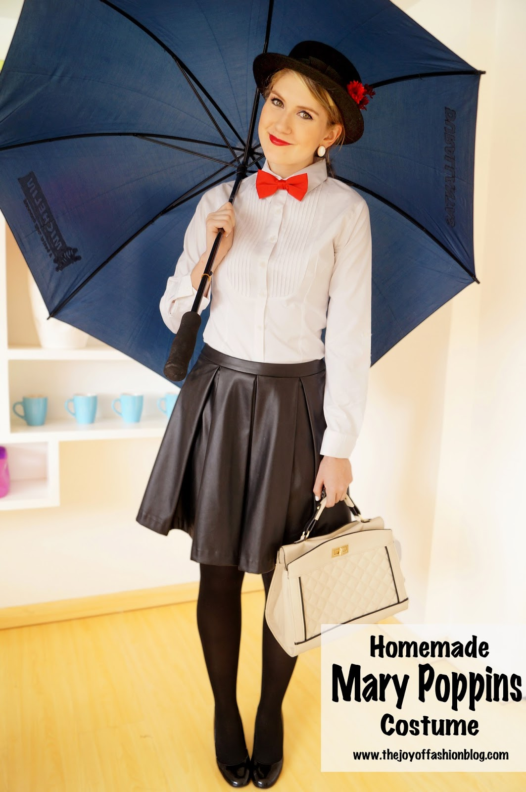 The joy of fashion halloween homemade mary poppins costume halloween homemade mary poppins costume solutioingenieria Images