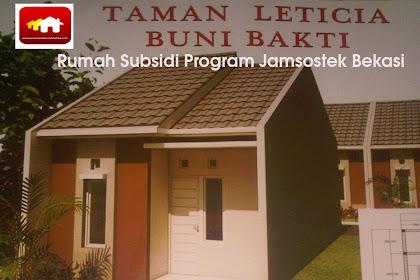 Taman Leticia Perumahan Subsidi Program Jamsotek Babelan Bekasi