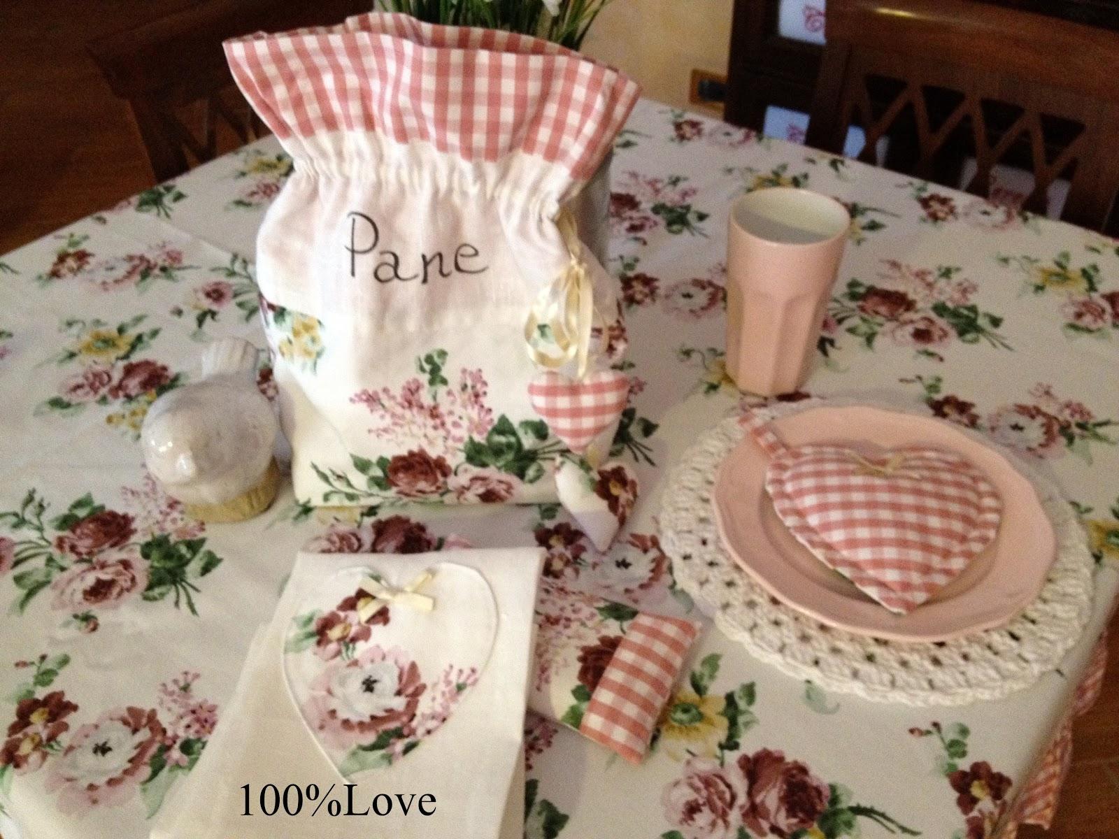 100%LOVE: Coordinato country da cucina