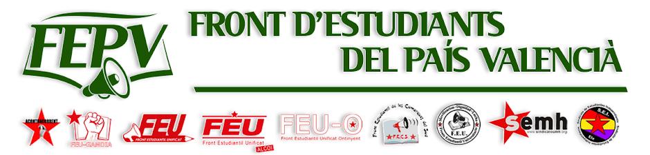 FEPV | Front d'Estudiants del País Valencià