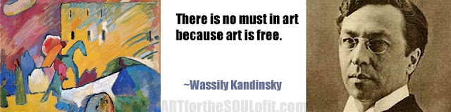 wassily kandinsky quote there is no must in art...
