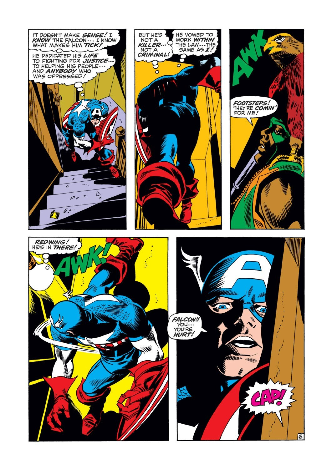 Captain America (1968) Issue #126 #40 - English 7