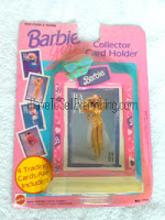Vintage Barbie Collector Card Holder unopened