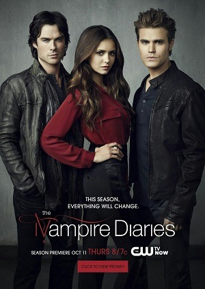 The Vampire Diaries - Diários de um Vampiro - 8ª Temporada Séries Torrent Download capa
