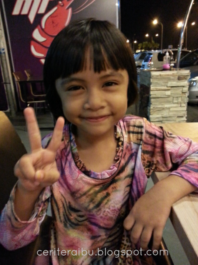 Kakak Nur Diyana Imani dah 5 tahun