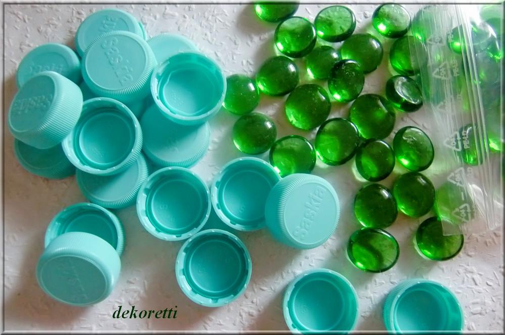 Dekorettis Welt Aus Plastikdeckeln Von Pet Flaschen Und