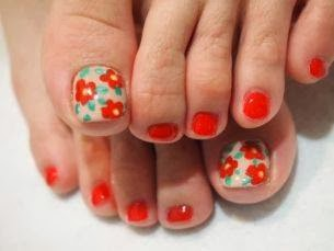 extended the big toes perfect petunia simple flower nail art for big toe feats LED-polish-manicure-OPI-Nail-Polish-Lacquer-Pedicure-care-natural-healthcare-Gel-Nail-Polish-beauty-Acrylic-Nails-Nail-Art-USA-UK