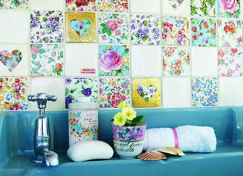 Azulejos Viejos Baño:deco tambien en baños se pueden colocar los azulejos sobre algun
