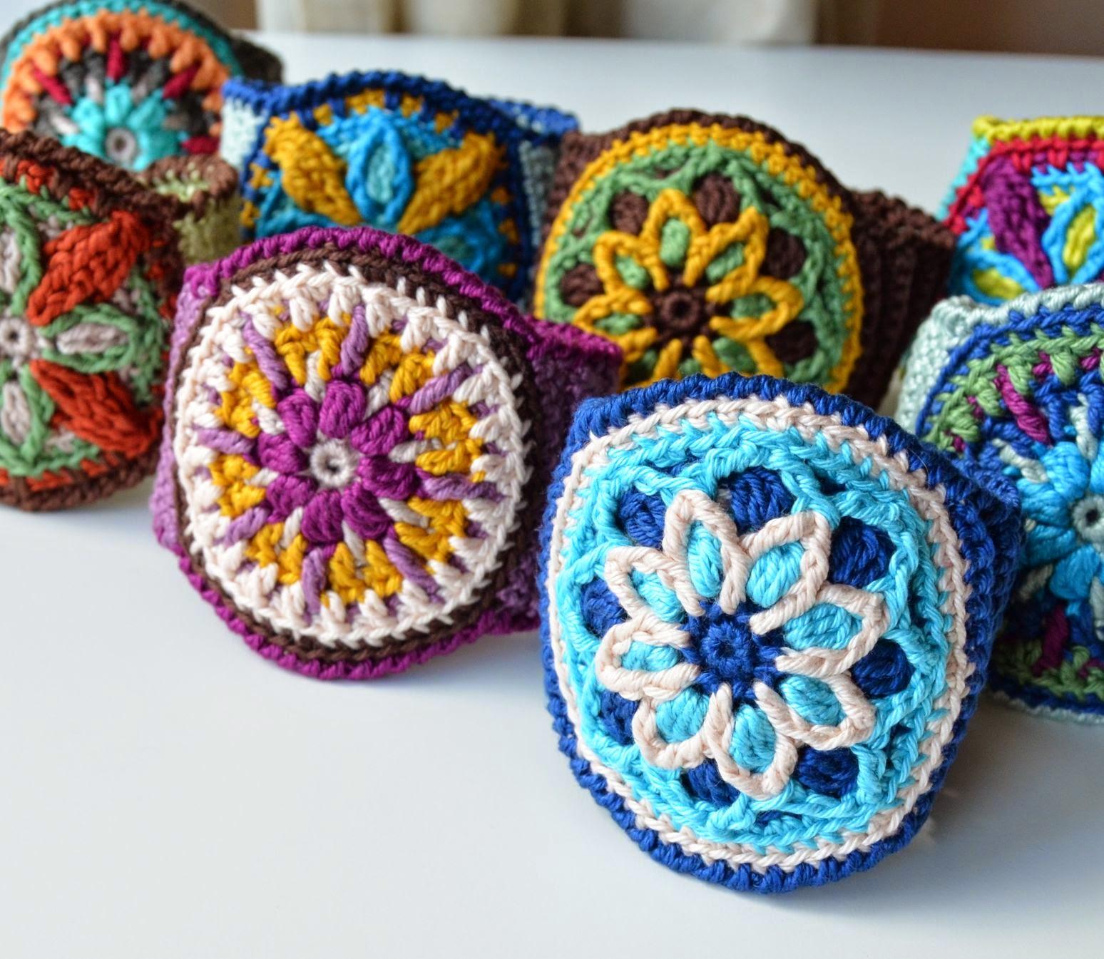 A New Trend for Summer: Crocheted Cuffs | LillaBjörn\'s Crochet World