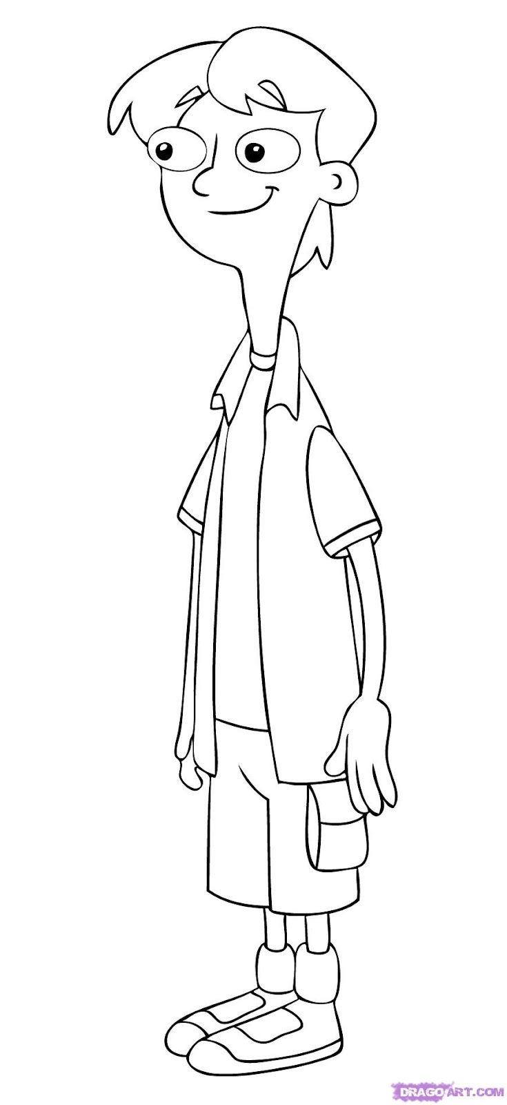 Phineas and ferb on Pinterest Coloring Pages, Perry The