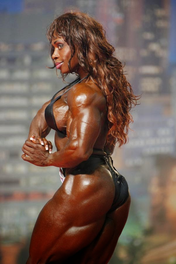 from Dorian bodybuilder female booty nude