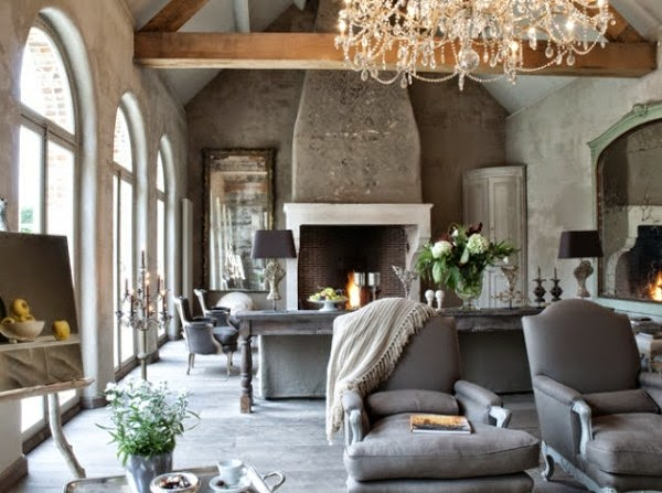 Lulu klein modern french country living for Modern french country design
