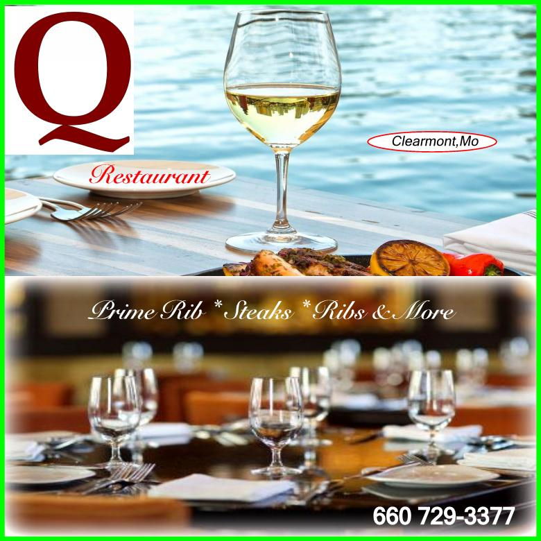 The Q Restaurant (Official Website) Maryville,Mo & Clarinda,Ia