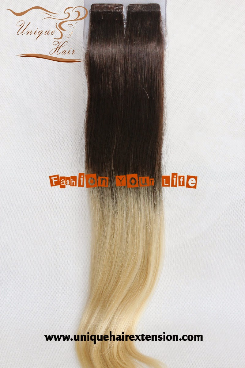 two tone tape hair extensions