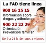 TELÉFONO DE ORIENTACIÓN PARA LAS FAMILIAS DE LA FAD
