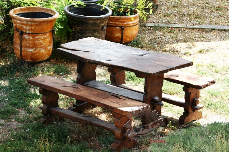 Amadera meuble et d coration le charme thique du for Mobilier de jardin bois et metal
