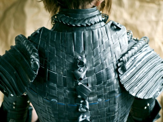 Links Post Medieval Armour Made From Rubber Inner Tubes Sexy