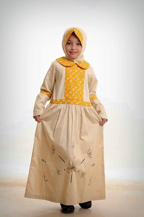 model gamis anak terbaru 2015