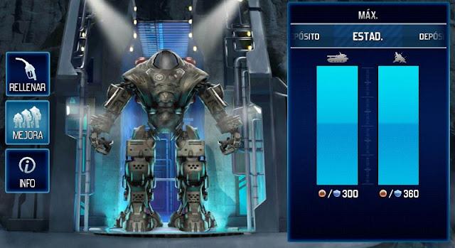 Con las mejoras completas Prometheus nos da 360 de ataque y defensa