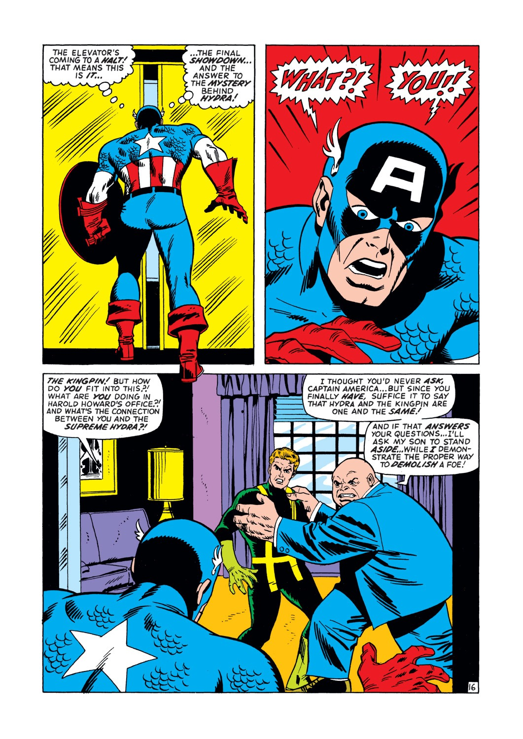 Captain America (1968) Issue #147 #61 - English 17