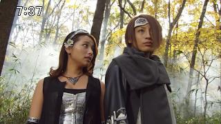 Enter and Escape, the villains of Tokumei Sentai Go-Busters