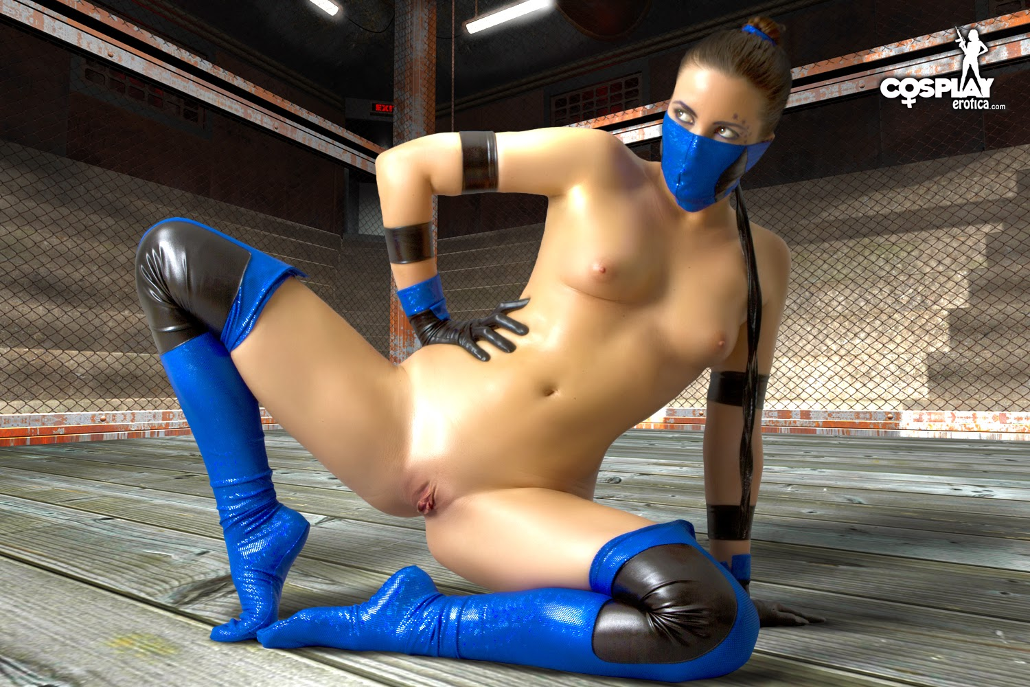 Kitana mod sexy naked photo
