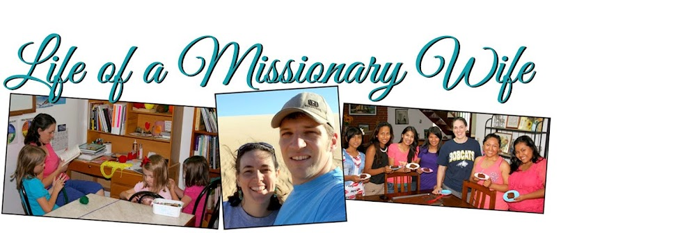 Life of a Missionary Wife