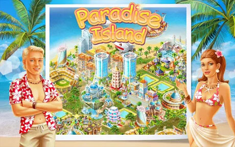 Paradise Island v2.11 Apk + Data