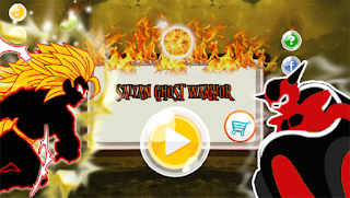 Screenshots of the Dragon Ghost Saiyan Warrior Z for Android tablet, phone.