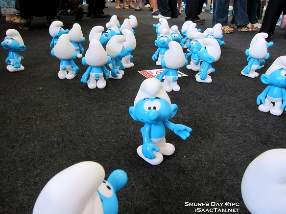 smurfs invasion