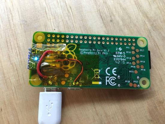 raspberry pi zero mod