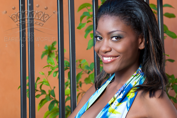 miss barbados world 2011 lyngeolle morris