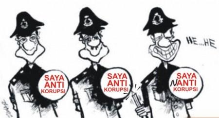 gambar kartun kitirk korupsi