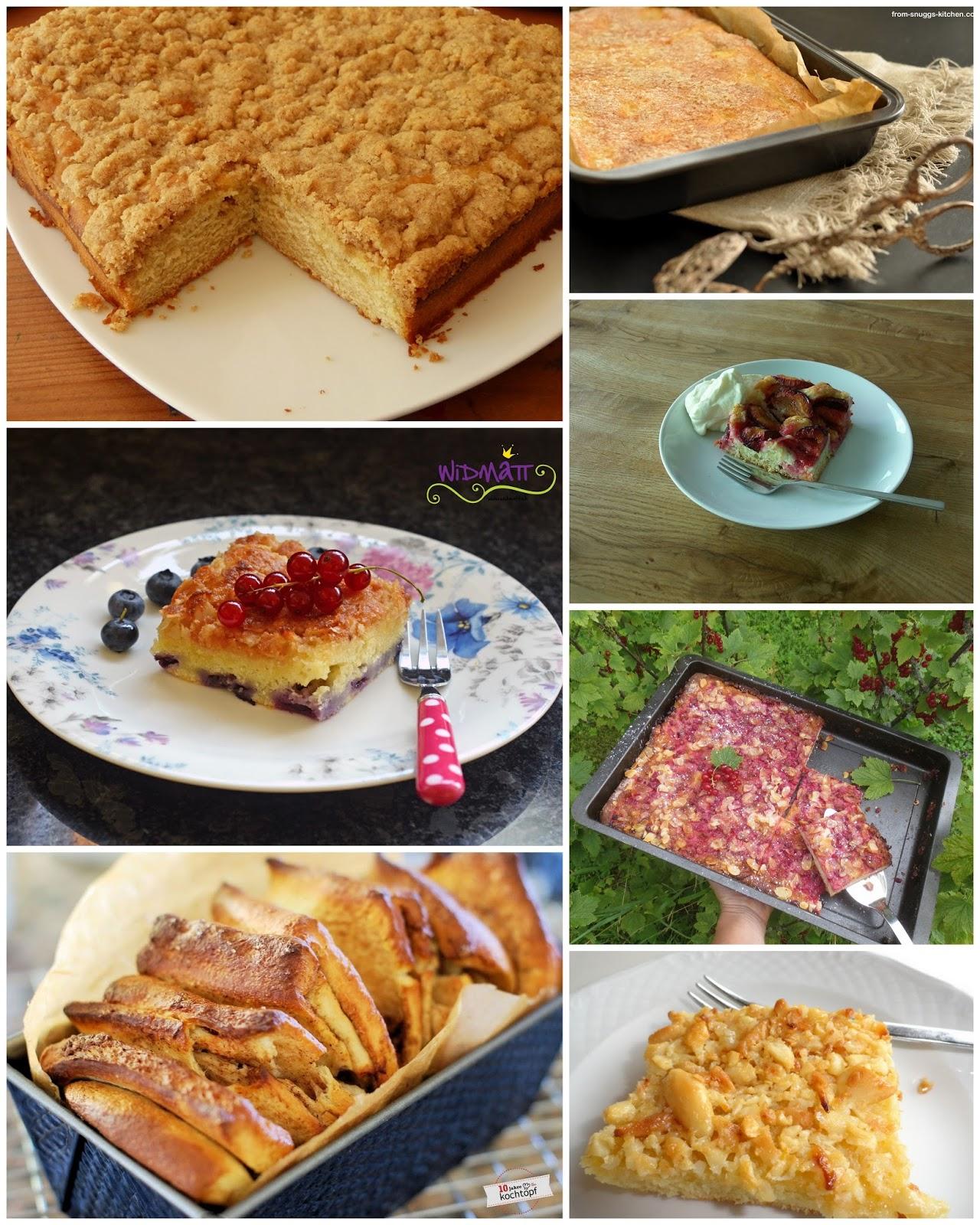 Wir retten was zu retten ist: Butterkuchen - Collage von Sandra fromsnuggskitchen
