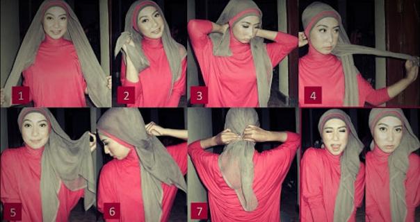Bentuk Hijab Wajah Lonjong Terbaru