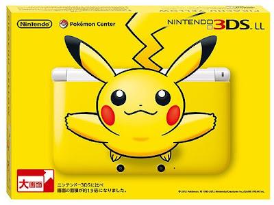 Lanzamiento del 3DS Edicion Pikachu