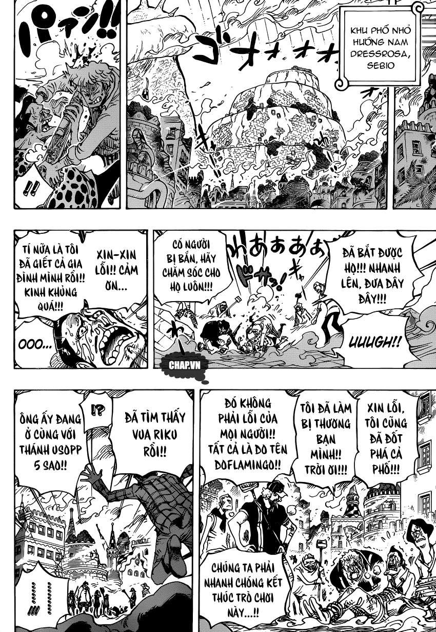 One Piece Chapter 753: Tác chiến 008