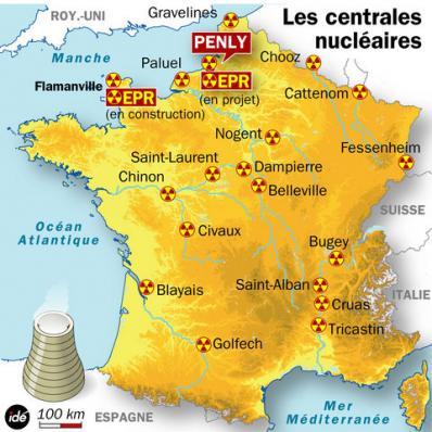 Nature alerte: 05/04/2012...France, Un incendie est en cours à la centrale nucléaire de Penly