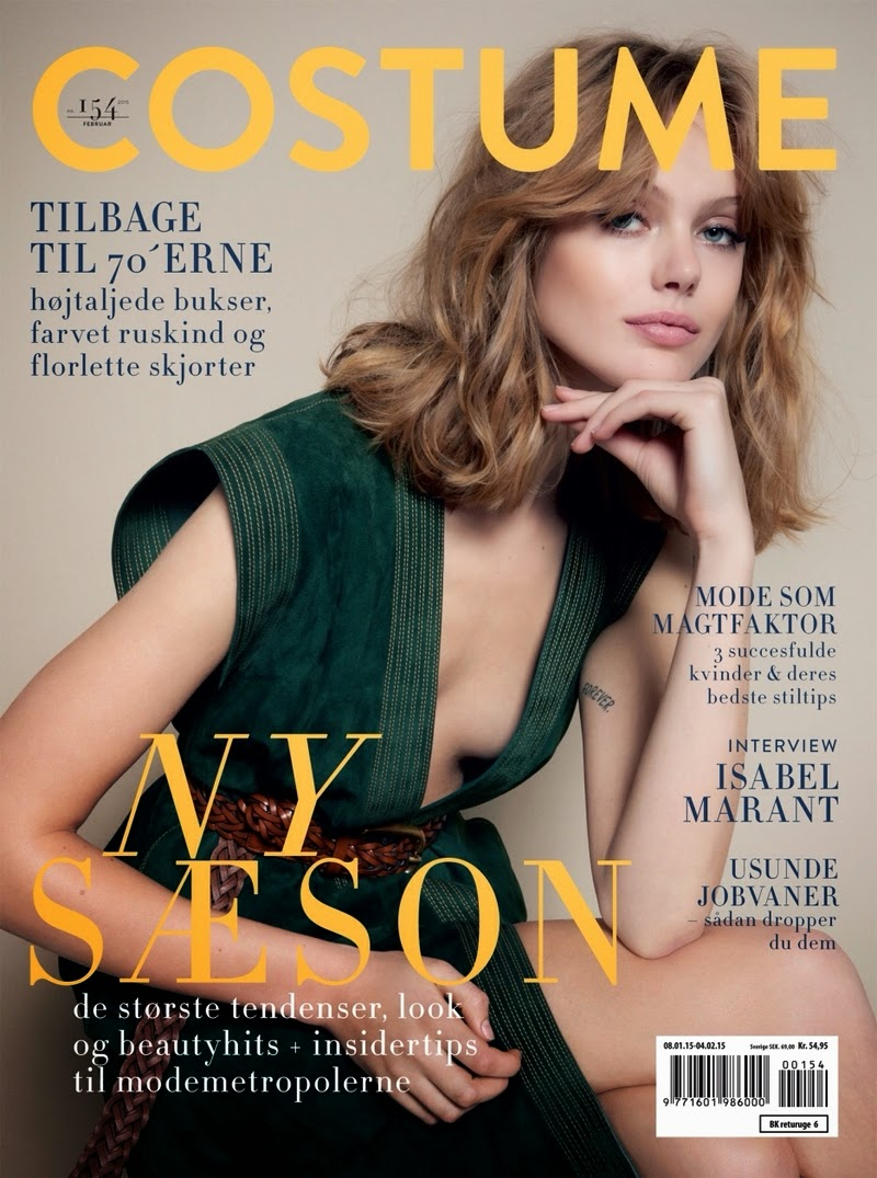 Frida Gustavsson - Costume Denmark, February 2015