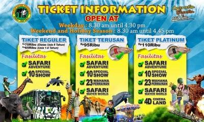 Tiket Taman Safari Murah