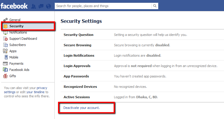 How Do You Terminate Your Facebook Account