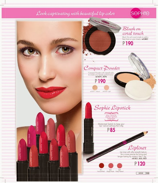 SOPHIE PARIS LIPSTICKS