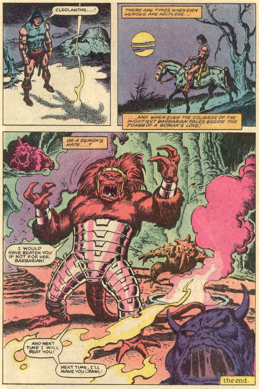 Conan the Barbarian (1970) Issue #152 #164 - English 23