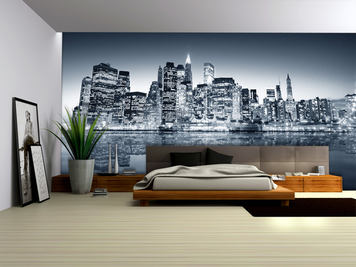 Ideas para decorar paredes - Decoracion vinilo pared ...