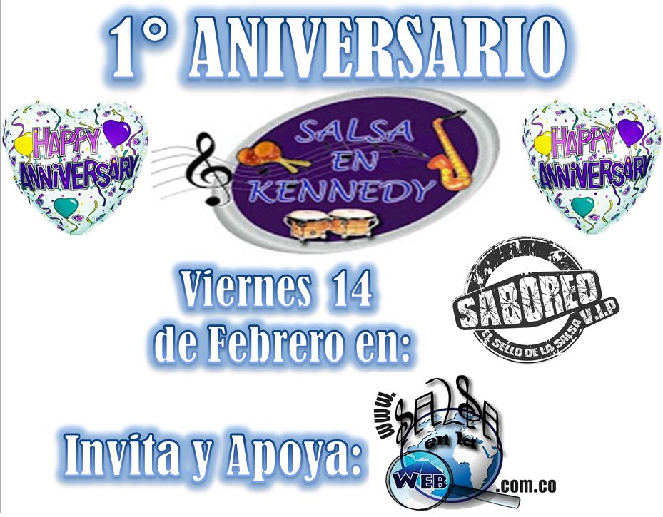 ► 1° Aniversario Salsa en Kennedy