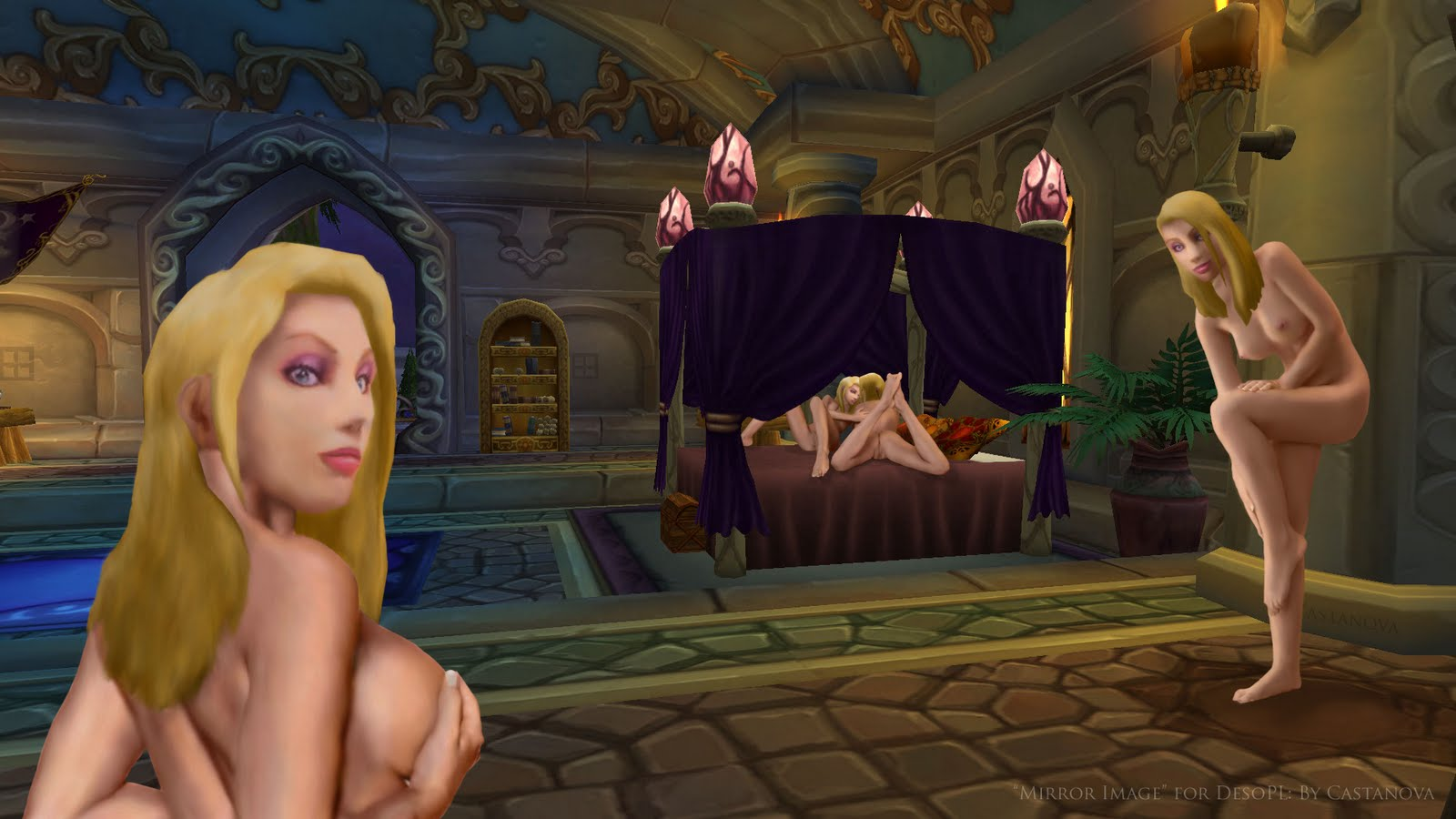 Nude blood elves and drani porno tube