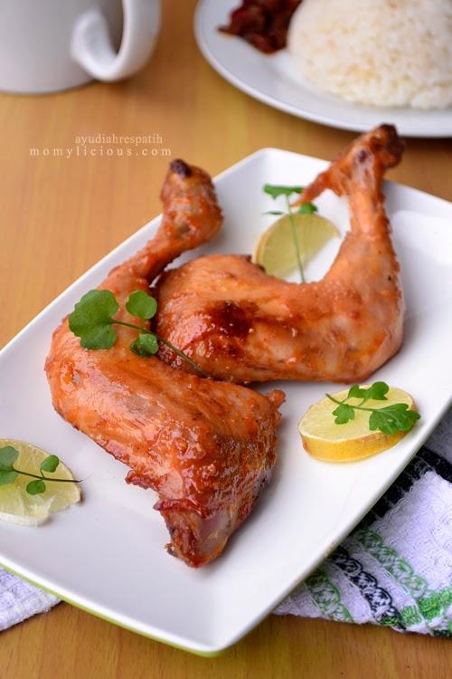 Ayam Panggang Madu & Nasi Liwet