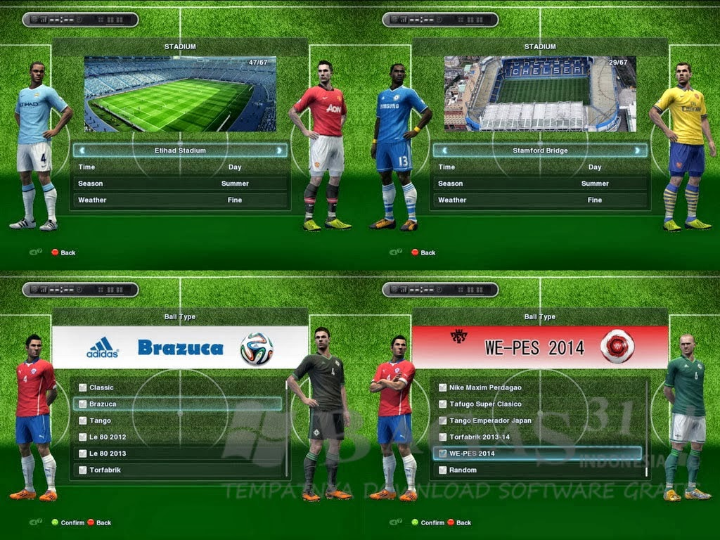New Pes Patch2 PES 2013 Sun PATCH 1.01 Full Winter Februari 2014